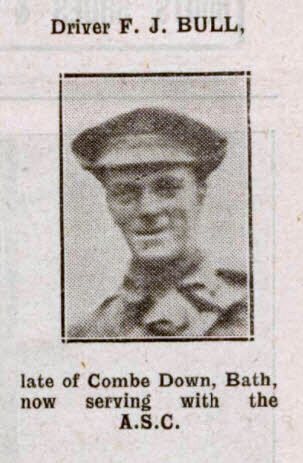 Driver F J Bull - Bath Chronicle and Weekly Gazette - Saturday 10 February 1917