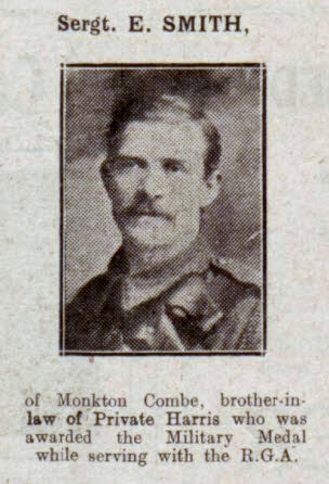 E Smith - Bath Chronicle and Weekly Gazette - Saturday 29 September 1917