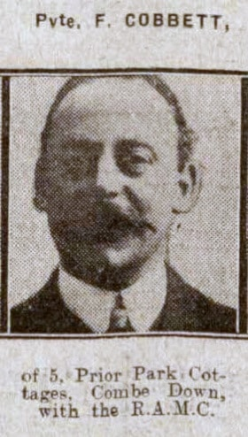 F Cobbet - Bath Chronicle and Weekly Gazette - Saturday 7 August 1915