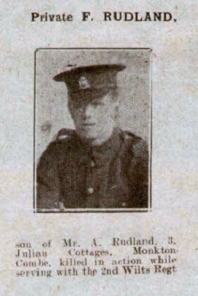 F Rudland - Bath Chronicle and Weekly Gazette - Saturday 2 June 1917