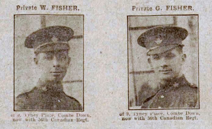 Fisher brothers - Bath Chronicle and Weekly Gazette - Saturday 8 April 1916