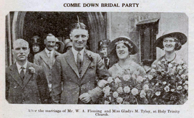 Fleming - Tyley wedding - Bath Chronicle and Weekly Gazette - Saturday 18 June 1932