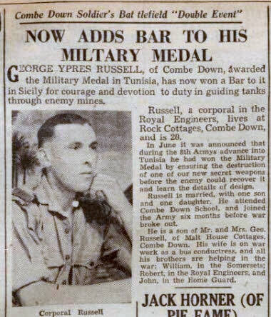 George Ypres Russell - Bath Chronicle and Weekly Gazette - Saturday 23 October 1943