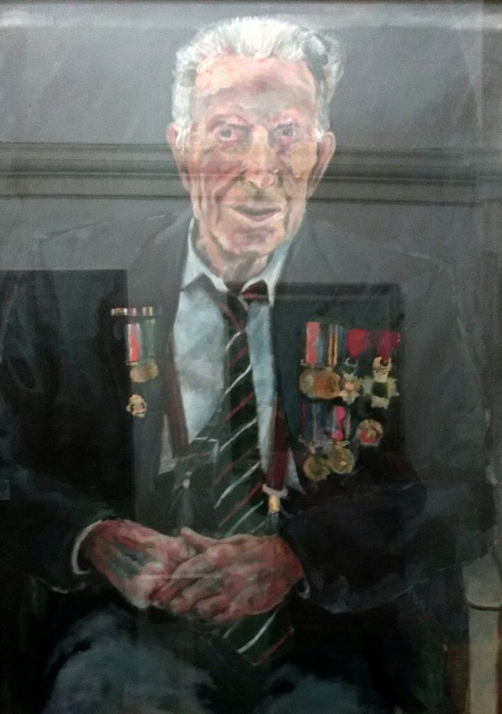 Harry Patch portrait, Guildhall