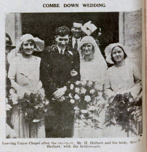 Hulbert - Herbert wedding - Bath Chronicle and Weekly Gazette - Saturday 5 November 1932