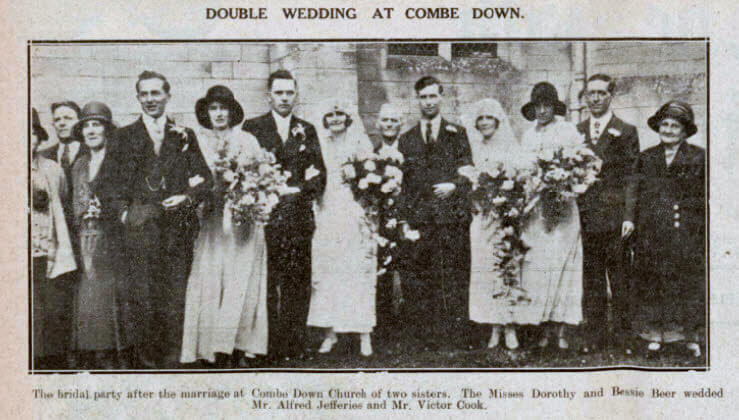 Jefferies - Beer and Cook - Beer double wedding at Combe Down