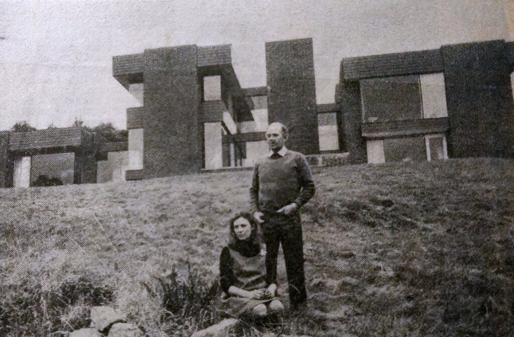 John and Vivien Womersley at Valley Spring in 1972