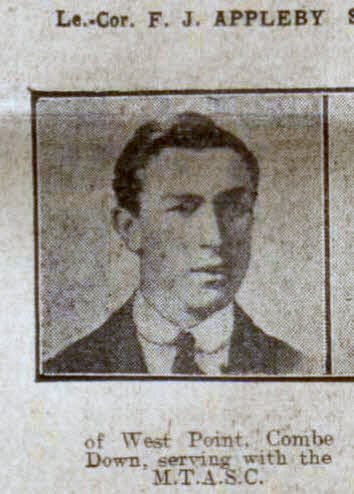 L Corp F J Appleby - Bath Chronicle and Weekly Gazette - Saturday 15 May 1915
