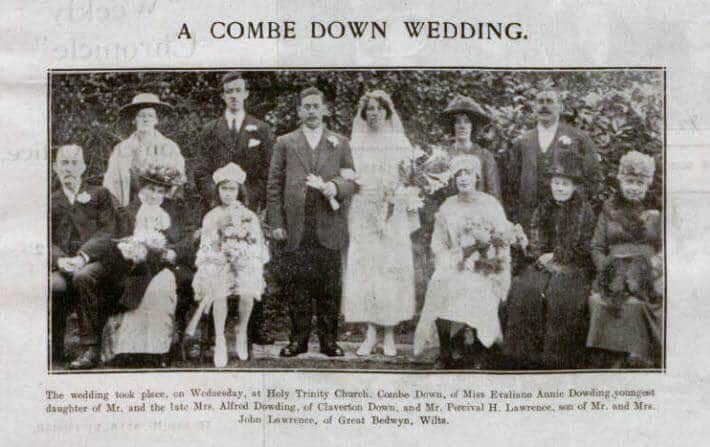 Lawrence - Dowding Combe Down wedding