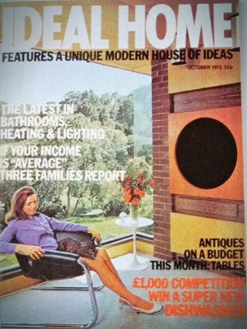 October 1972 Ideal Home cover for Valley Spring