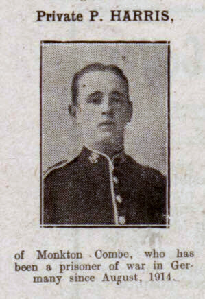 P Harris - Bath Chronicle and Weekly Gazette - Saturday 29 September 1917