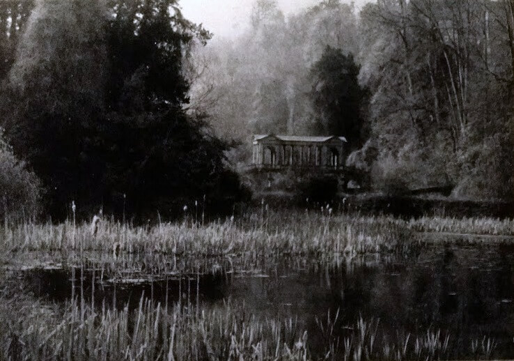 Palladian Bridge at Prior Park 1947