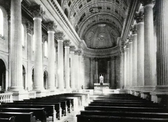 Prior Park chapel, date unknown