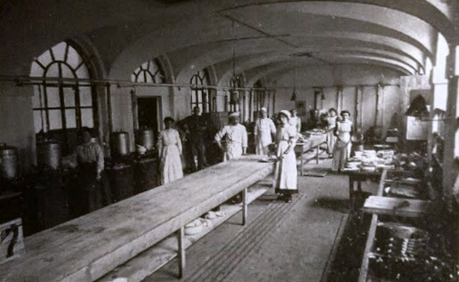 Prior Park kitchens early 1900s