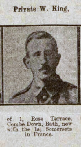 Private W King Bath Chronicle and Weekly Gazette - Saturday 19 June 1915