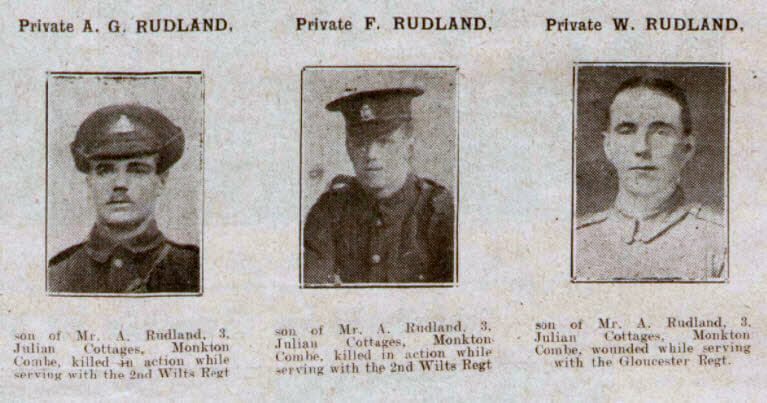 Rudland brothers - Bath Chronicle and Weekly Gazette - Saturday 2 June 1917