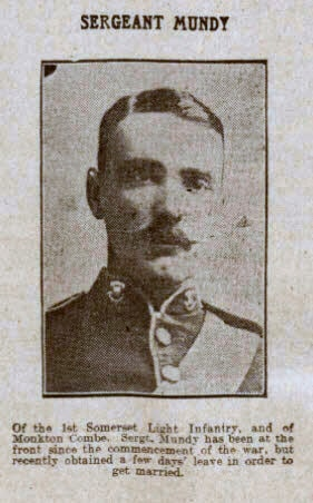 Sergeant Mundy - Bath Chronicle and Weekly Gazette - Saturday 20 February 1915