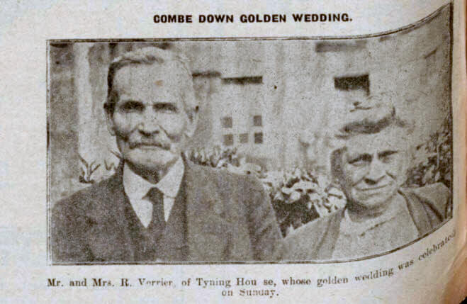 Verrier golden wedding - Bath Chronicle and Weekly Gazette - Saturday 14 May 1927