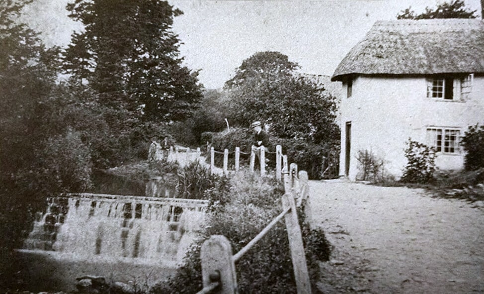 Weir near Prior Park early 1900s