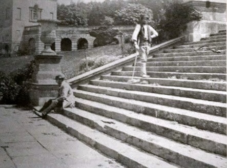 Working at Prior Park 1870