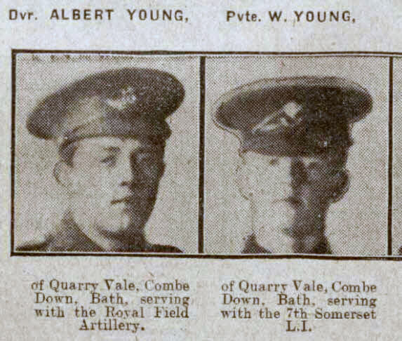 Young brothers - Bath Chronicle and Weekly Gazette - Saturday 7 August 1915