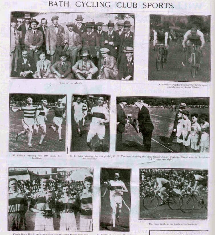 Bath cycling club - Bath Chronicle and Weekly Gazette - Saturday 14 June 1924