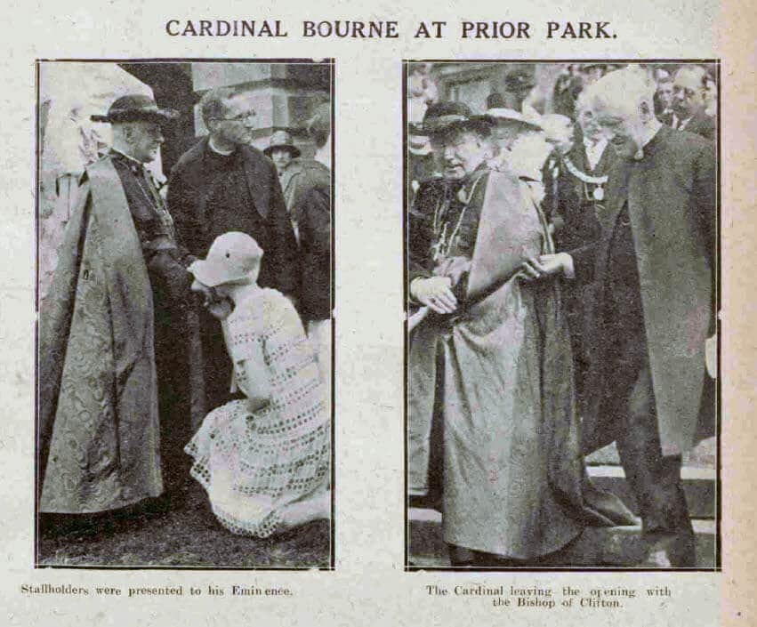 Cardinal Bourne - Bath Chronicle and Weekly Gazette - Saturday 12 June 1926