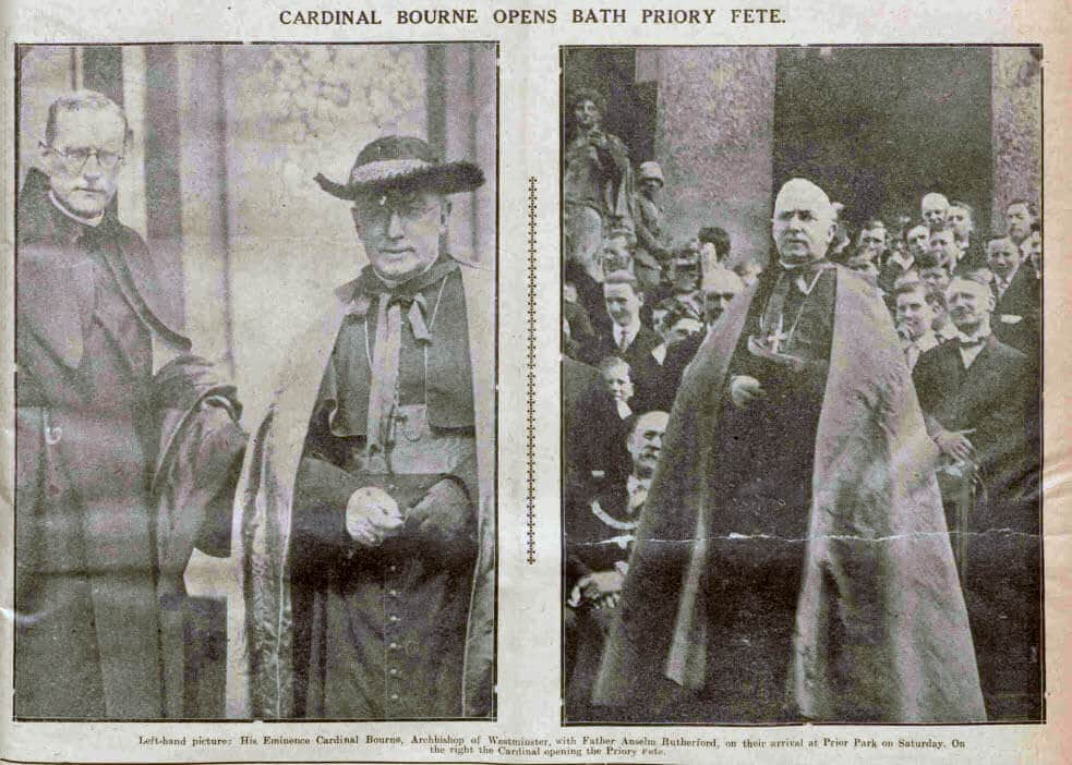 Cardinal Bourne opens fete - Bath Chronicle and Weekly Gazette - Saturday 12 June 1926