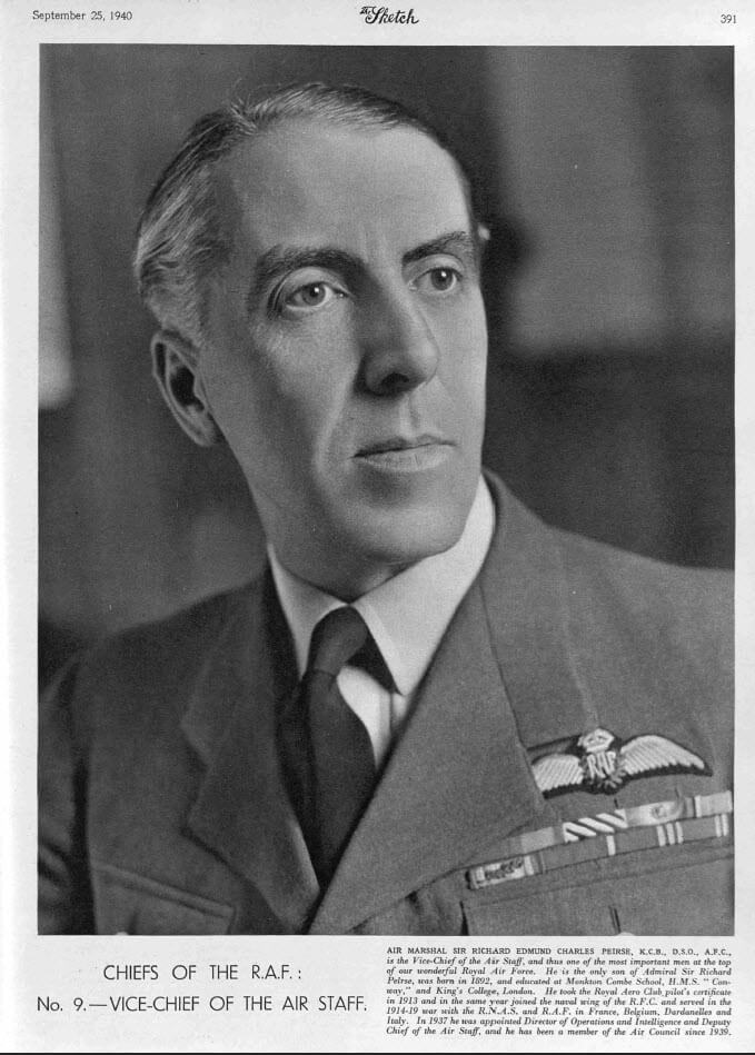 Chief of the RAF - The Sketch - Wednesday 25 September 1940