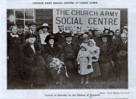 Church Army social centre at Combe Down