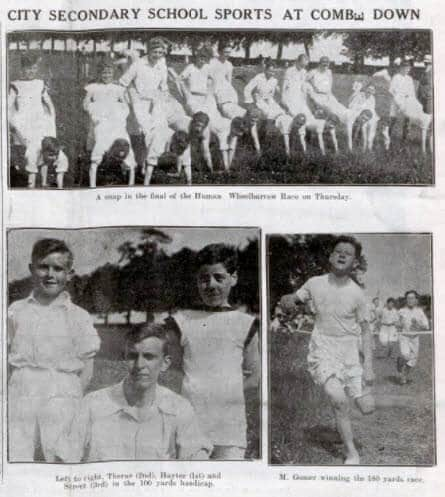 City secondary school sports - Bath Chronicle and Weekly Gazette - Saturday 6 June 1925