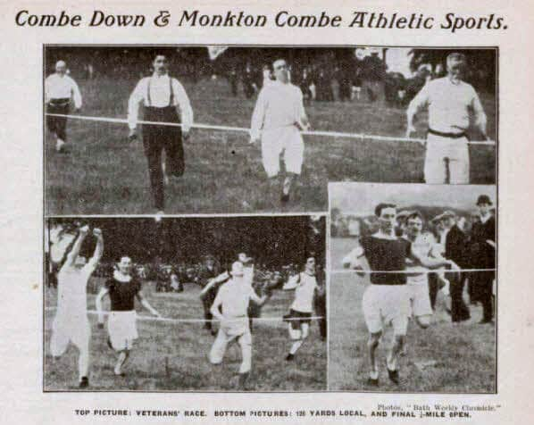 Combe Down and Monkton Combe athletic sports