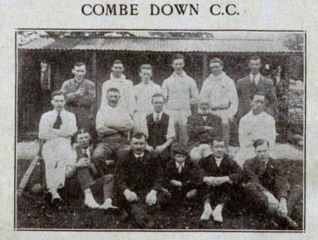 Combe Down CC - Bath Chronicle and Weekly Gazette - Saturday 16 July 1921