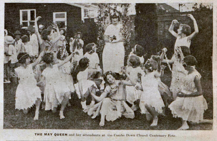 Combe Down centenary fete - Bath Chronicle and Weekly Gazette - Saturday 6 July 1935