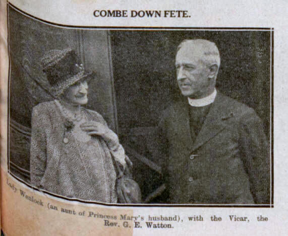 Combe Down fete - Bath Chronicle and Weekly Gazette - Saturday 2 August 1930