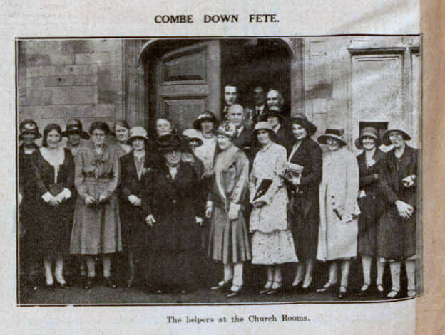 Combe Down fete - Bath Chronicle and Weekly Gazette - Saturday 27 June 1931