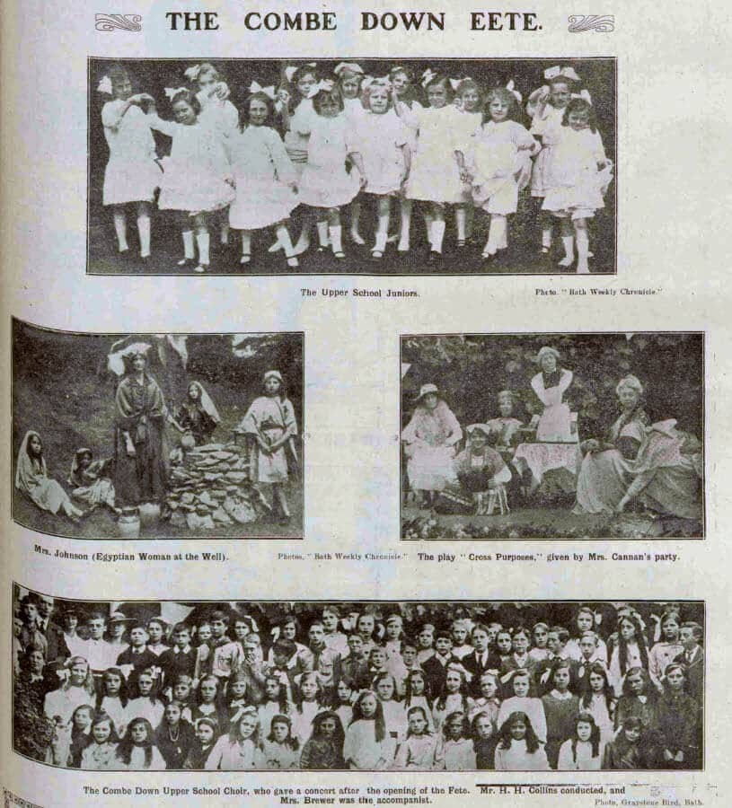 Combe Down fete - Bath Chronicle and Weekly Gazette - Saturday 4 August 1917