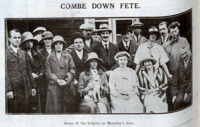 Combe Down fete - Bath Chronicle and Weekly Gazette - Saturday 9 August 1924