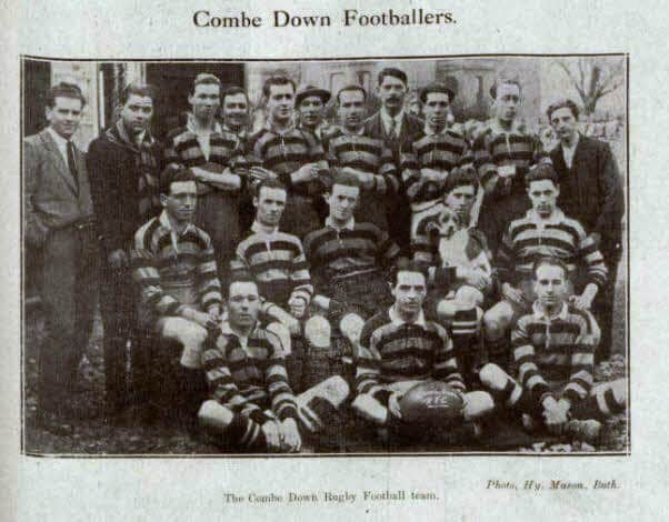 Combe Down footballers - Bath Chronicle and Weekly Gazette - Saturday 16 October 1920