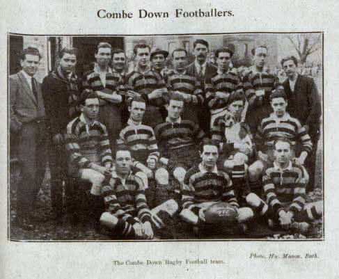 Combe Down RFC - Bath Chronicle and Weekly Gazette - Saturday 16 October 1920