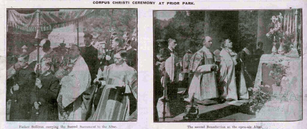 Corpus Christi at Prior Park - Bath Chronicle and Weekly Gazette - Saturday 13 June 1925