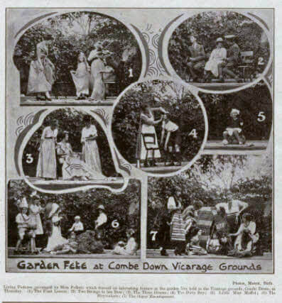 Garden fete at Combe Down vicarage - Bath Chronicle and Weekly Gazette - Saturday 23 July 1921