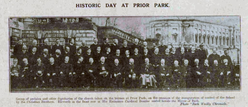 Historic day at Prior Park - Bath Chronicle and Weekly Gazette - Saturday 9 October 1920
