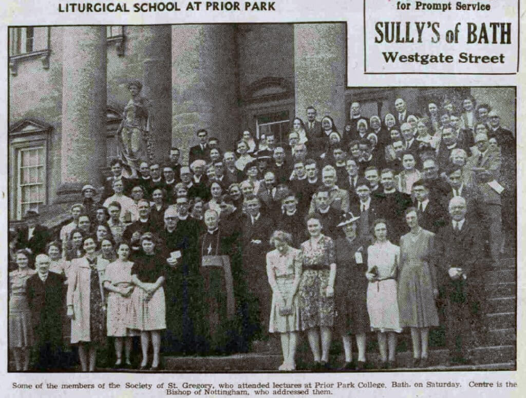 Liturgical school - Bath Chronicle and Weekly Gazette - Saturday 9 August 1947