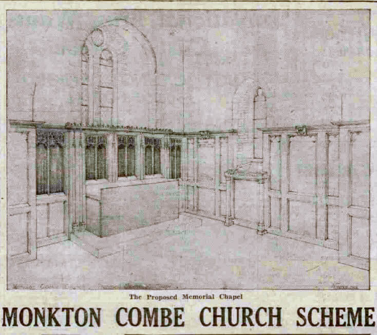 Memorial chapel - Bath Chronicle and Weekly Gazette - Saturday 17 May 1947