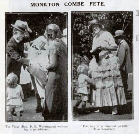 Monkton Combe fete - Bath Chronicle and Weekly Gazette - Saturday 15 August 1925