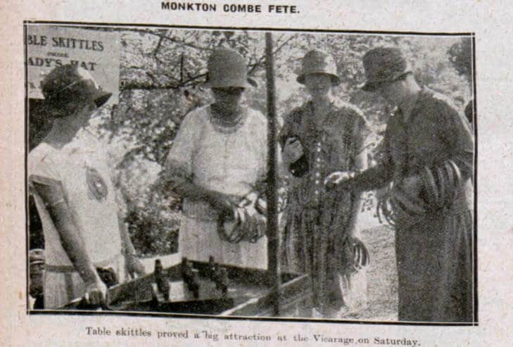 Monkton Combe fete - Bath Chronicle and Weekly Gazette - Saturday 4 September 1926