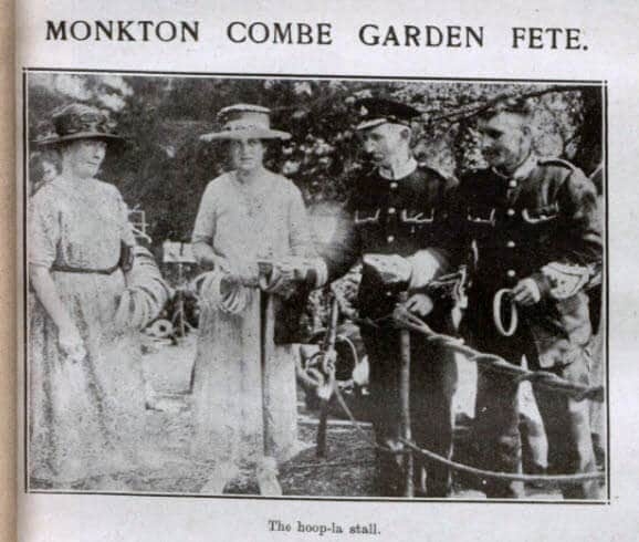 Monkton Combe garden fete - Bath Chronicle and Weekly Gazette - Saturday 14 July 1923