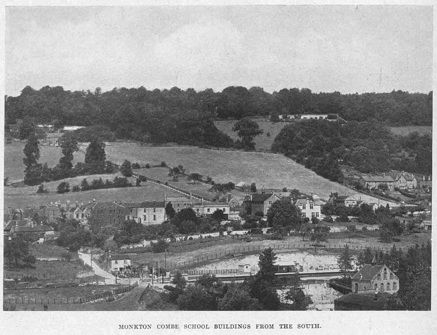 Monkton Combe school from the South - Illustrated Sporting and Dramatic News - Saturday 3 November 1
