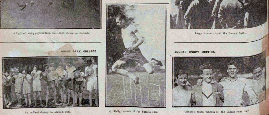 Obstacle race - Bath Chronicle and Weekly Gazette - Saturday 25 May 1929